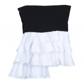 Suki The Label Black And White Tube Sleeveless
