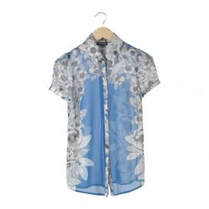 Warehouse Blue Floral Shirt