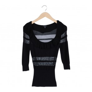 Bebe Black Sweater
