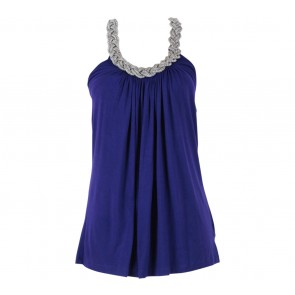 Forever 21 Purple Halter Sleeveless
