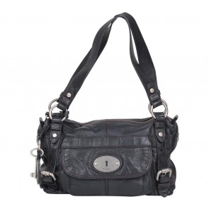 Fossil Black Shoulder Bag