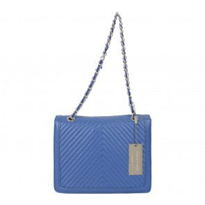 Charles and Keith Blue Shoulder Bag