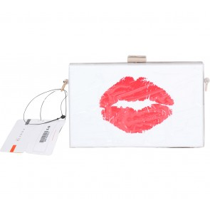 Foot In White Clutch
