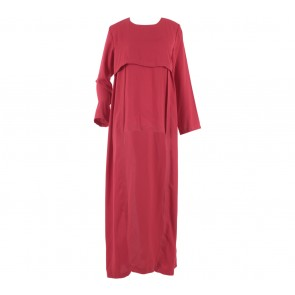 Mannequina Red Tunic Long Dress
