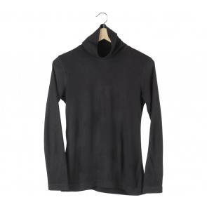 UNIQLO Black High Neck Sweater