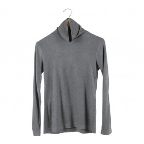 UNIQLO Grey High Neck Sweater