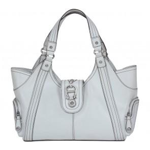 Aigner White Handbag