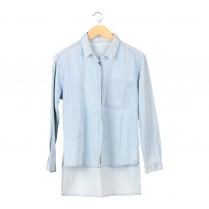 Cotton Ink Blue Shirt