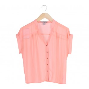 Forever 21   Peach Blouse