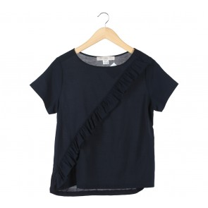 French Connection Dark Blue Blouse