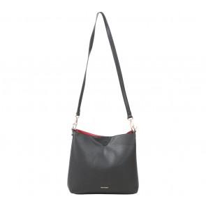 Hush Puppies Black Sling Bag