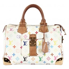 Louis Vuitton Off White Monogram Handbag