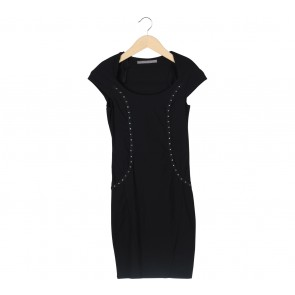 Zara Black Studded Mini Dress