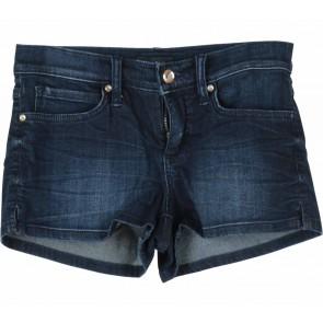 Bebe Dark Blue Short Denim Pants