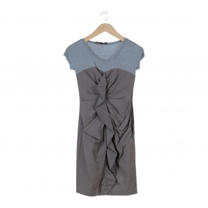 BCBG Grey Mini Dress