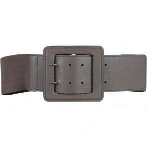 Zara Brown Rubber Belt