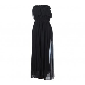 Mango Black Tube  Long Dress