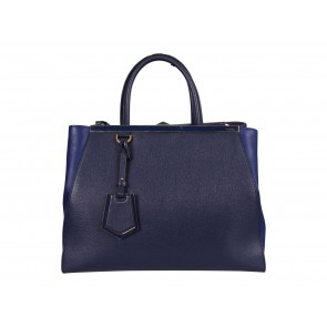 Fendi Blue Tote Bag
