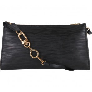 Louis Vuitton Black Epi Clutch
