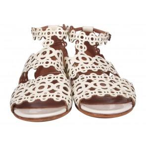 Alaa White Sandals