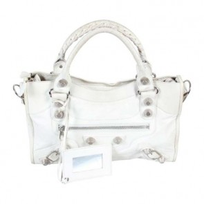 Balenciaga Off White Giant City Tote Bag
