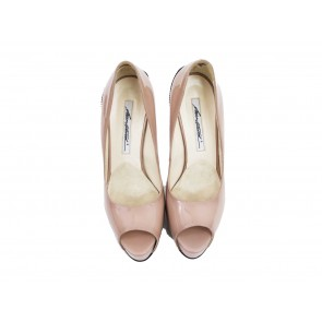 Brian Atwood Nude Heels