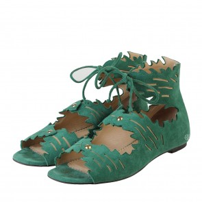 Charlotte Olympia Eden Sandals Green