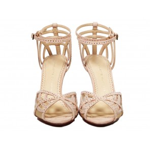 Charlotte Olympia Nude Sandals