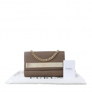 Furla Brown Sling Bag