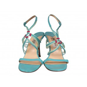 Jimmy Choo Turquoise Sandals
