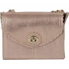 Accessorize Gold Sling Bag