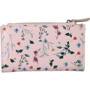 Stradivarius Pink Floral Wallet