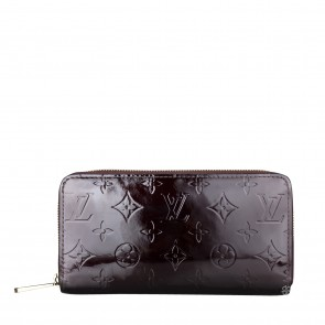 Louis Vuitton Black Vernish Ammarente Wallet