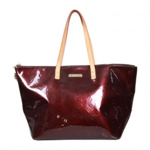 Louis Vuitton Brown Vernis Bellevue GM Tote Bag