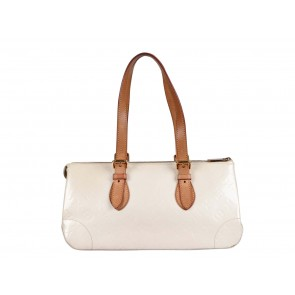 Louis Vuitton White Rosewood Avenue Perle Vernis Tote Bag