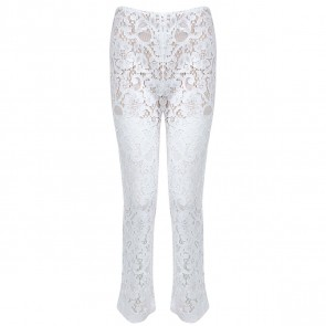 MSGM White Pants