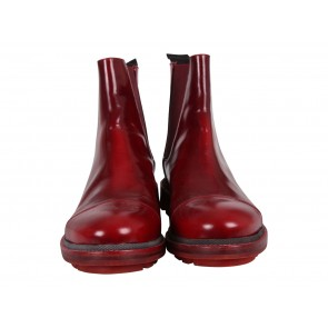 Jil Sander Red Women´s Ankle Boots