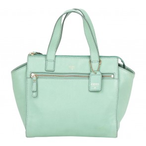 Fossil Green Handbag
