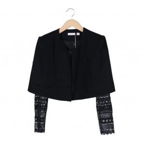 Sass & Bide Black Combi Outerwear