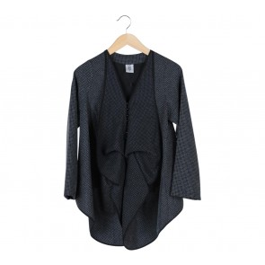 Eri Black Plaid Blazer