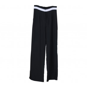 Jenahara Black With White Trim Pants