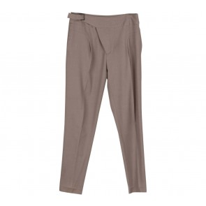 Zara Brown Belted Pants