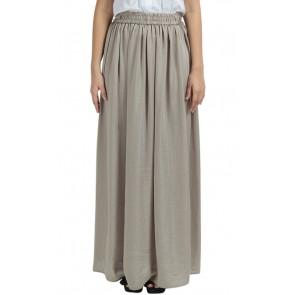 Champagne Straight Long Skirt