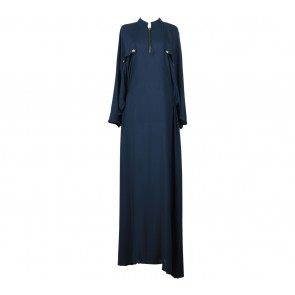 vivvi zubedi Dark Blue Long Dress