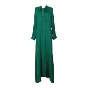 Novierock Green Tied Long Dress