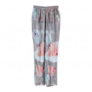 riamiranda Grey Floral Pants