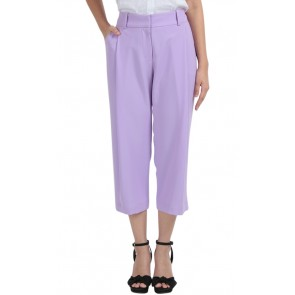 Purple Crop Pants