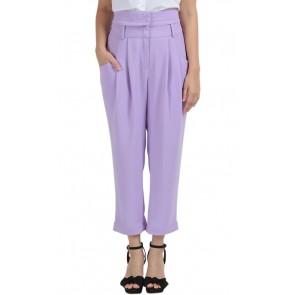 Purple High Waist Pants