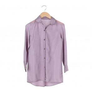 Tina Huang Purple Shirt