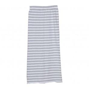 Novierock White And Grey Striped Skirt